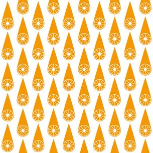オレンジ パターンのイラスト素材 [FYI01215074]