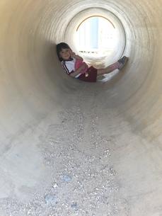 子供の秘密基地の写真素材 [FYI01215091]
