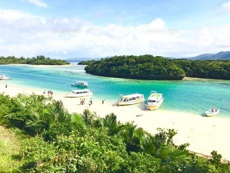 石垣島  川平湾の写真素材 [FYI01215120]