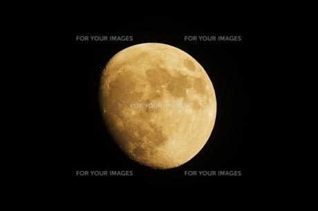 十三夜の月の写真素材 [FYI01215835]