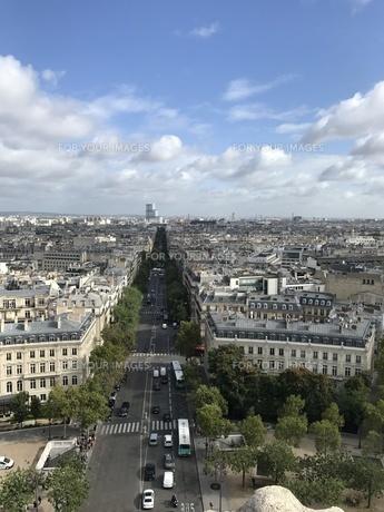 凱旋門からの眺めの写真素材 [FYI01215971]