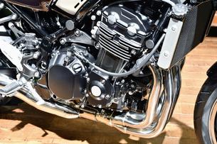 日本製オートバイのエンジンの写真素材 [FYI01216099]