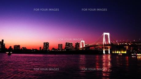 夕暮れの写真素材 [FYI01216247]