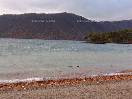 十和田湖の写真素材 [FYI01216479]