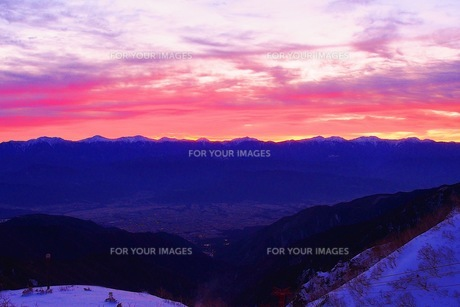 山の写真素材 [FYI01216707]
