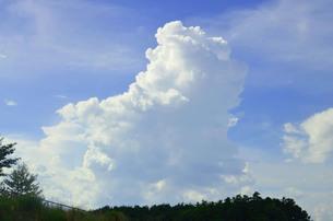 空と雲の写真素材 [FYI01216726]