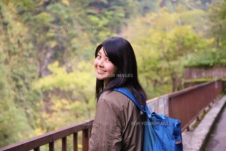 立山黒部アルペンルート紅葉の旅の写真素材 [FYI01216737]