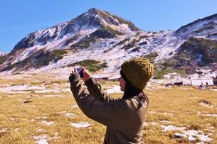 立山黒部アルペンルート 紅葉の旅の写真素材 [FYI01216744]