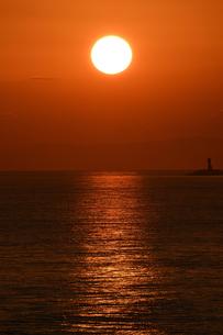 夕日の写真素材 [FYI01216867]