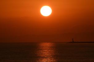 夕日の写真素材 [FYI01216868]
