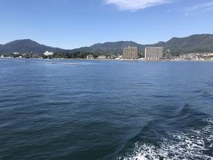 宮島の海の写真素材 [FYI01217030]