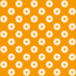 オレンジ パターンのイラスト素材 [FYI01217135]