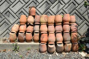 蛸壺の写真素材 [FYI01217196]