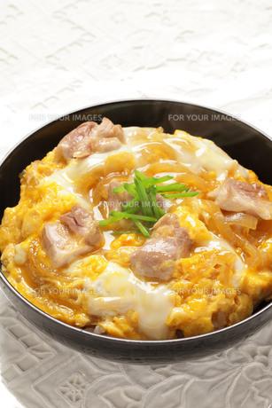 親子丼の写真素材 [FYI01217200]