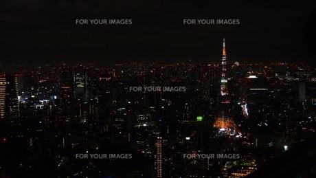 夜景の写真素材 [FYI01217330]