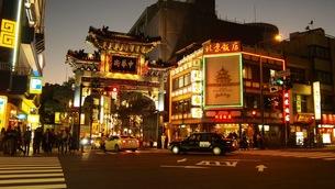 横浜中華街の写真素材 [FYI01217336]