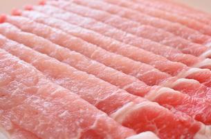 豚肉 ロースの写真素材 [FYI01217401]