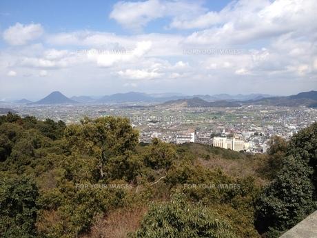 金比羅山からの風景の写真素材 [FYI01217530]