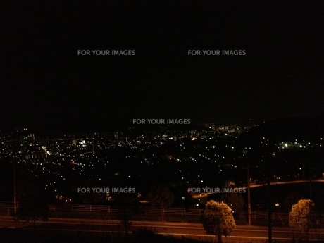春日野夜景の写真素材 [FYI01217535]