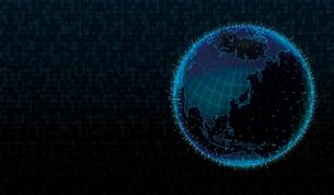 グローバルネットワーク・インターネット・ITビジネスイメージイラストのイラスト素材 [FYI01217885]