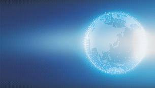 グローバルネットワーク・インターネット・ITビジネスイメージイラストのイラスト素材 [FYI01217889]