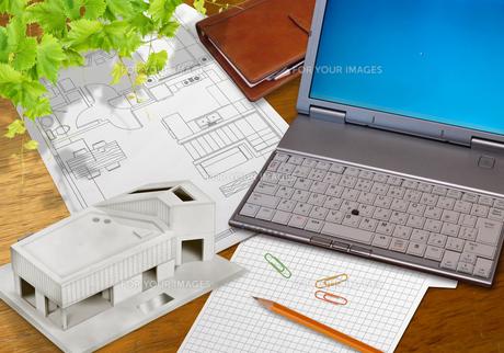 不動産オフィスグラフィックイメージのイラスト素材 [FYI01217907]