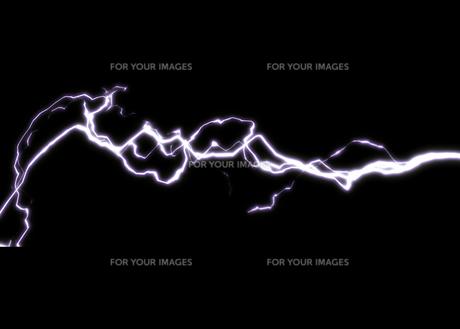 稲妻・雷 グラフィックイメージのイラスト素材 [FYI01217912]