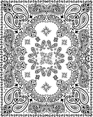 ペイズリーパターンイラストのイラスト素材 [FYI01217916]