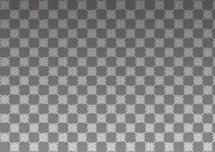 和柄 格子模様背景 正月素材 黒・銀のイラスト素材 [FYI01217983]
