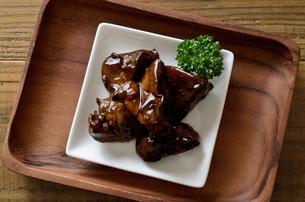 鶏レバーのしぐれ煮の写真素材 [FYI01218354]