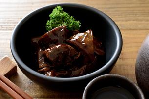 鶏レバーのしぐれ煮の写真素材 [FYI01218355]