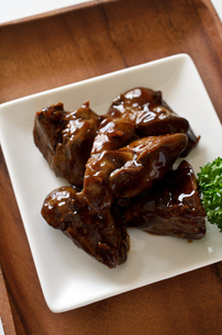鶏レバーのしぐれ煮の写真素材 [FYI01218357]