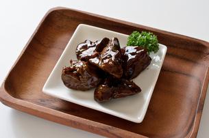 鶏レバーのしぐれ煮の写真素材 [FYI01218358]