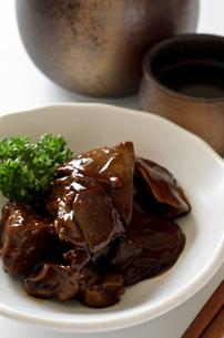 鶏レバーのしぐれ煮の写真素材 [FYI01218361]