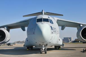 航空自衛隊のC-2輸送機の写真素材 [FYI01218430]