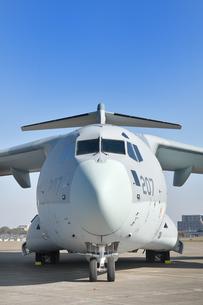 航空自衛隊のC-2輸送機の写真素材 [FYI01218431]