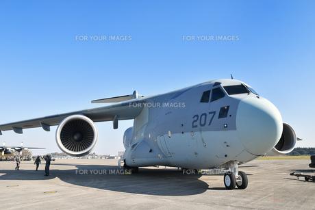 航空自衛隊のC-2輸送機の写真素材 [FYI01218432]