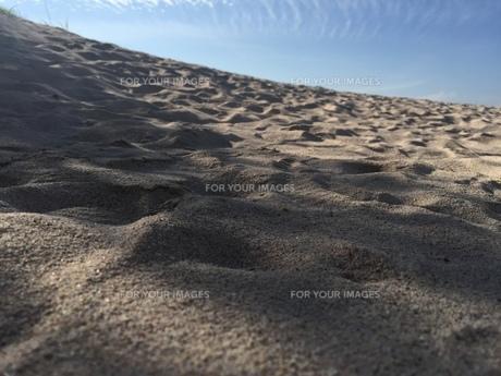 砂浜の写真素材 [FYI01218855]