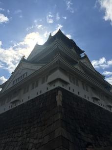 大阪城の写真素材 [FYI01218856]