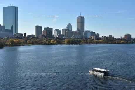 ボストンの街並みの写真素材 [FYI01219236]