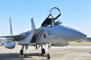 航空自衛隊のF-15戦闘機の写真素材 [FYI01219799]