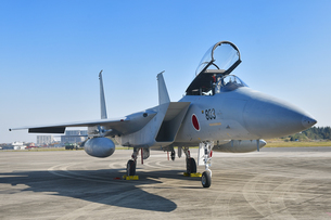 航空自衛隊のF-15戦闘機の写真素材 [FYI01219801]
