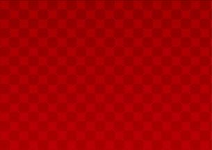 和柄 格子模様背景 正月素材 赤のイラスト素材 [FYI01220030]