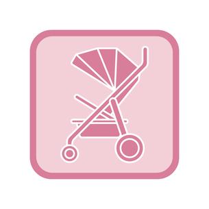 ベビーカー アイコンのイラスト素材 [FYI01220160]