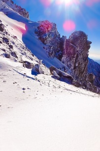 山の写真素材 [FYI01220263]
