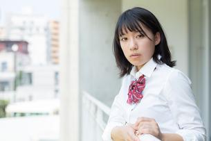 女子高校生のポートレートの写真素材 [FYI01220744]