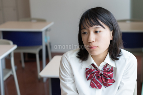 女子高校生のポートレートの写真素材 [FYI01220760]