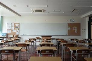 学校の教室の写真素材 [FYI01220968]