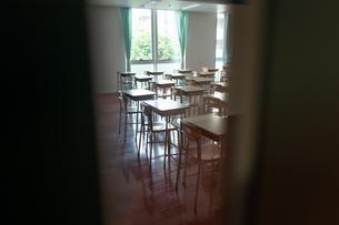 学校の教室の写真素材 [FYI01220980]