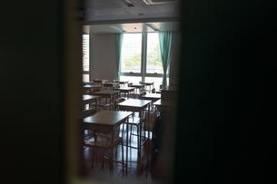 学校の教室の写真素材 [FYI01220981]